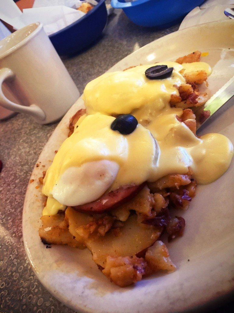 Benny and the Jets Gluten Free Eggs Benedict Clearwater Florida