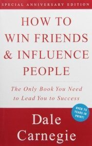 favorite books how to win friends and influence people dale carnegie