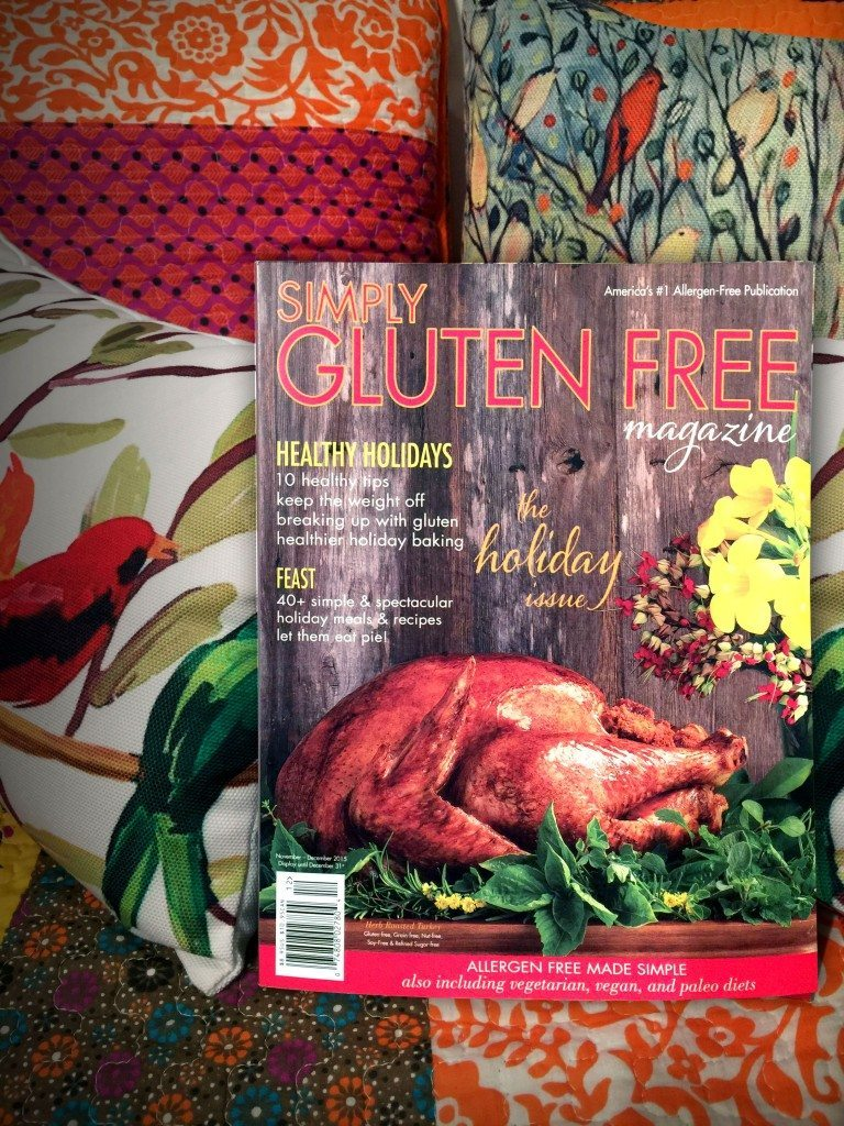 Simply Gluten Free Magazine Thanksgiving Holiday Issue
