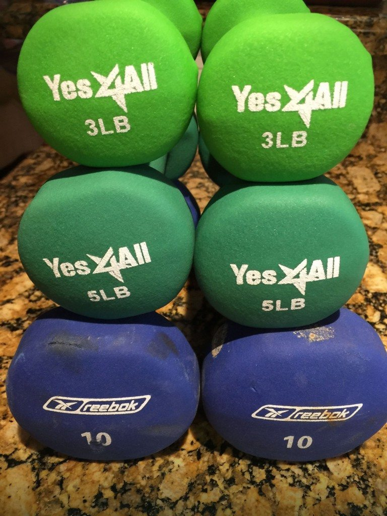 Tower of Power Weights Fitness Exercise
