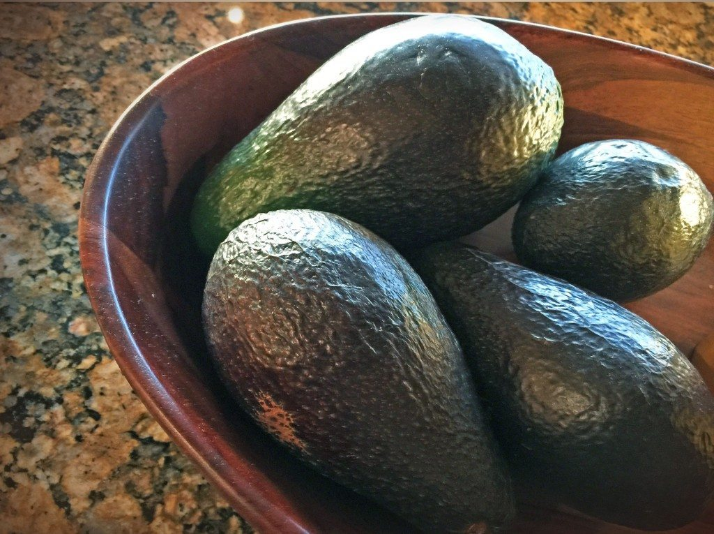 Avocados Final Stage Ripening