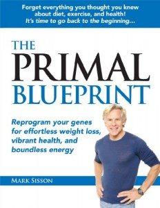 Primal Blueprint book Mark Sisson Diet Exercise Health Paleo