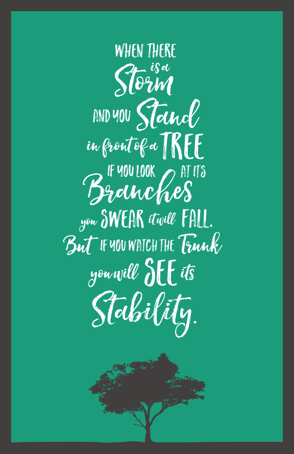the revenant when there is a storm quote design poster
