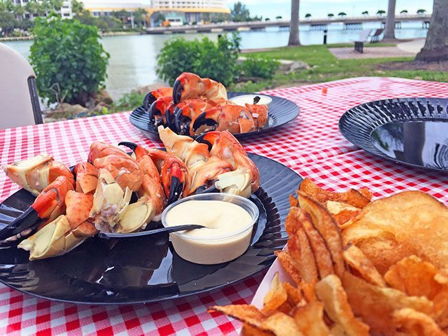 surf and turf food truck awesome miami gluten free crabs