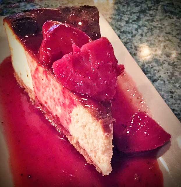 darbster bistro gluten free cheesecake don't stop me now