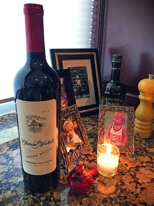 food of friendship chateau ste. michelle cabernet