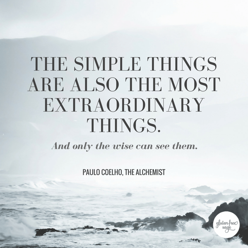 simple things are also the most extraordinary paulo coelho quote