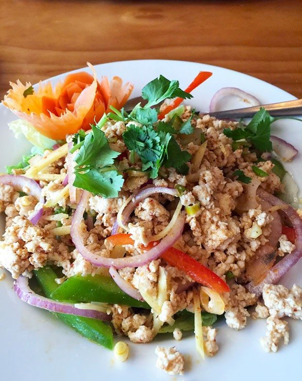 light gluten free lunch nam sod bangkok thai boca raton