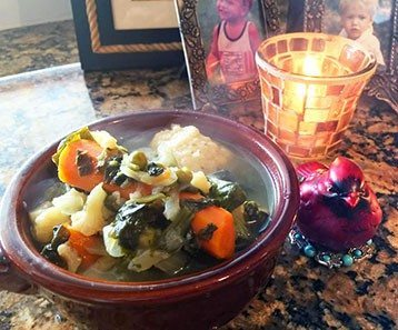 easy gluten free vegetable hot soup in the summertime recipe