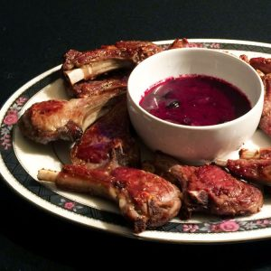 blueberry bliss pancakes fresh blueberry reduction lollipop lamb chops recipe