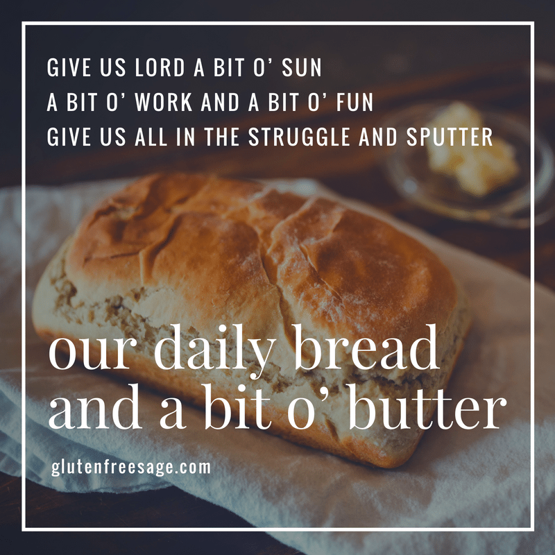 give wisely to charity daily bread and a bit o butter poem charity generosity