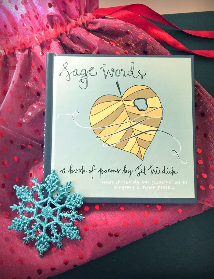 holiday gift giveaway sage words poetry book jet widick gluten free sage