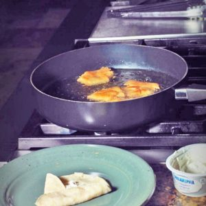 gluten free crab rangoon fusion recipe