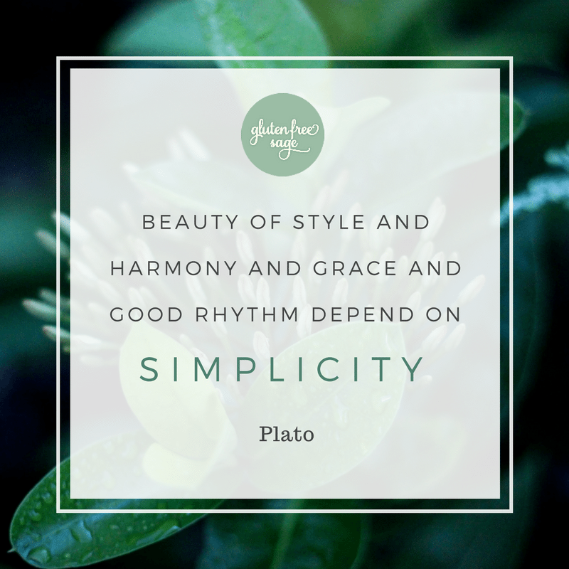 enchanting mangrove forest beauty of style harmony grace simplicity quote plato gluten free sage