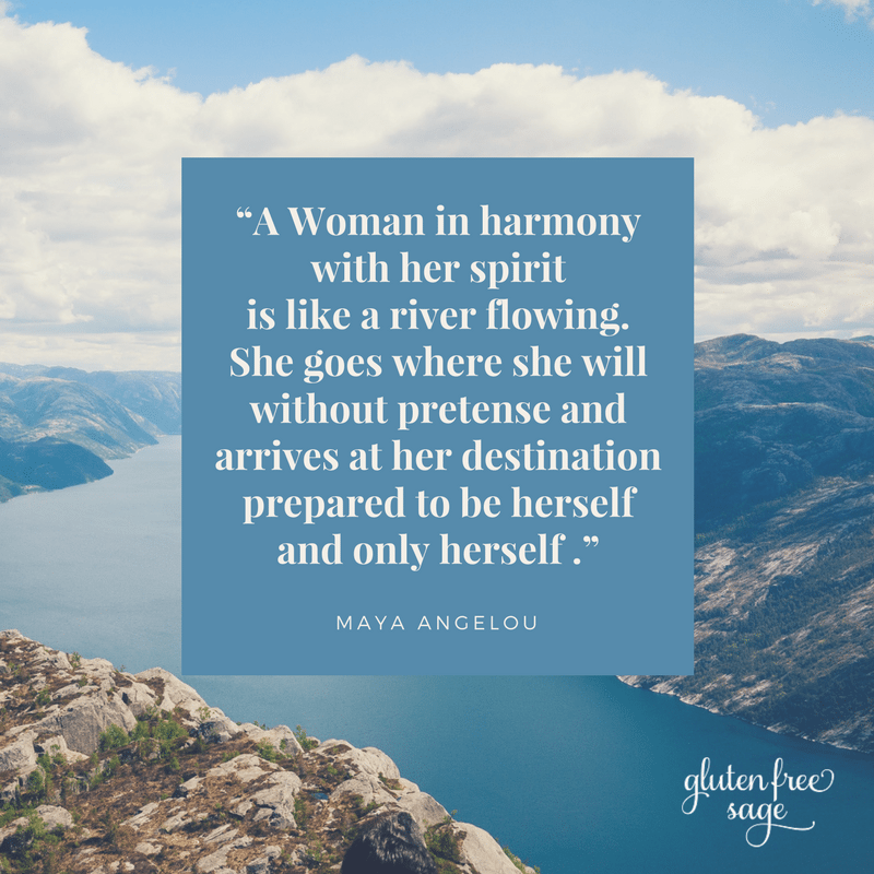 dent the future sun valley a woman in harmony with her spirit maya angelou quote