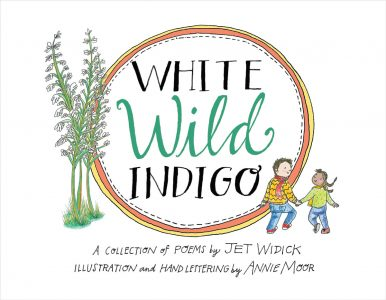 white wild indigo illustrated poetry book children adult readers