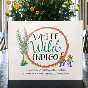 why inspiration matters white wild indigo illustrated poetry book jet widick annie moor