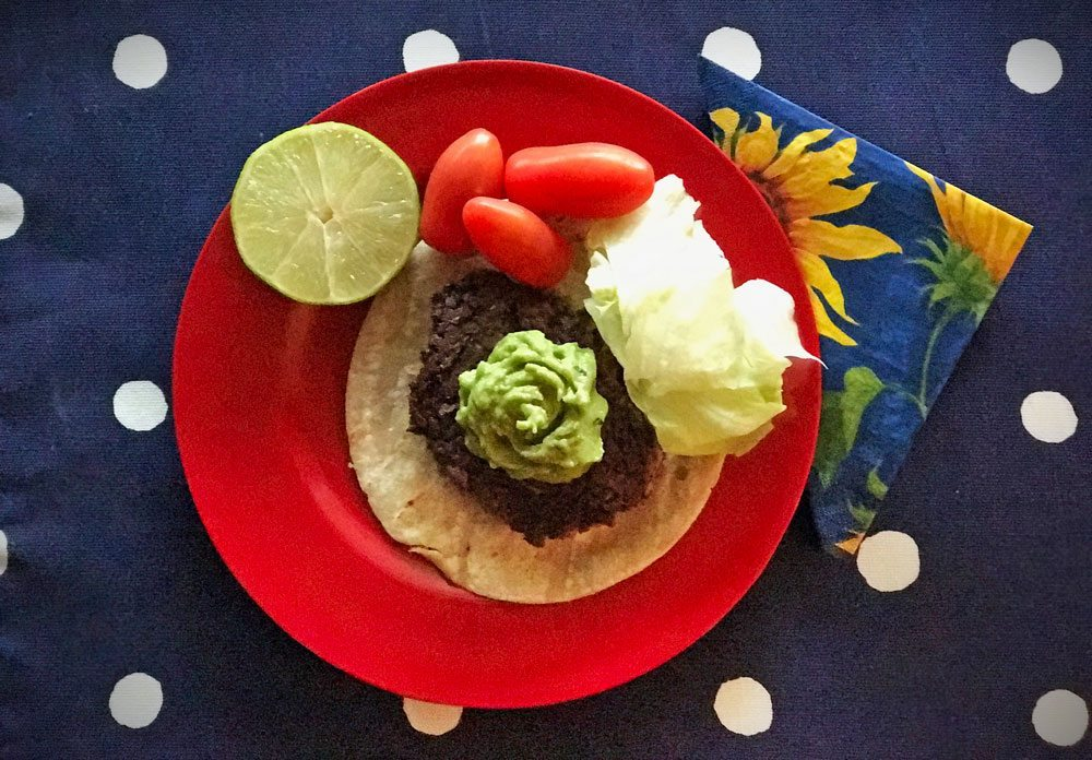 gluten free taco burger slow food summer