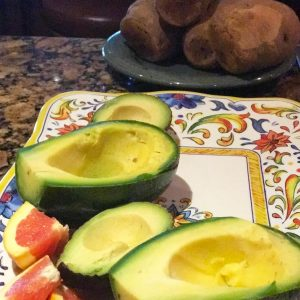gluten free cuban pulled pork stuffed avocados recipe