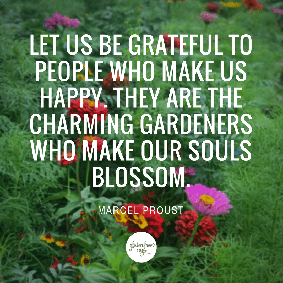 marcel proust grateful to people quote catalyst for happiness