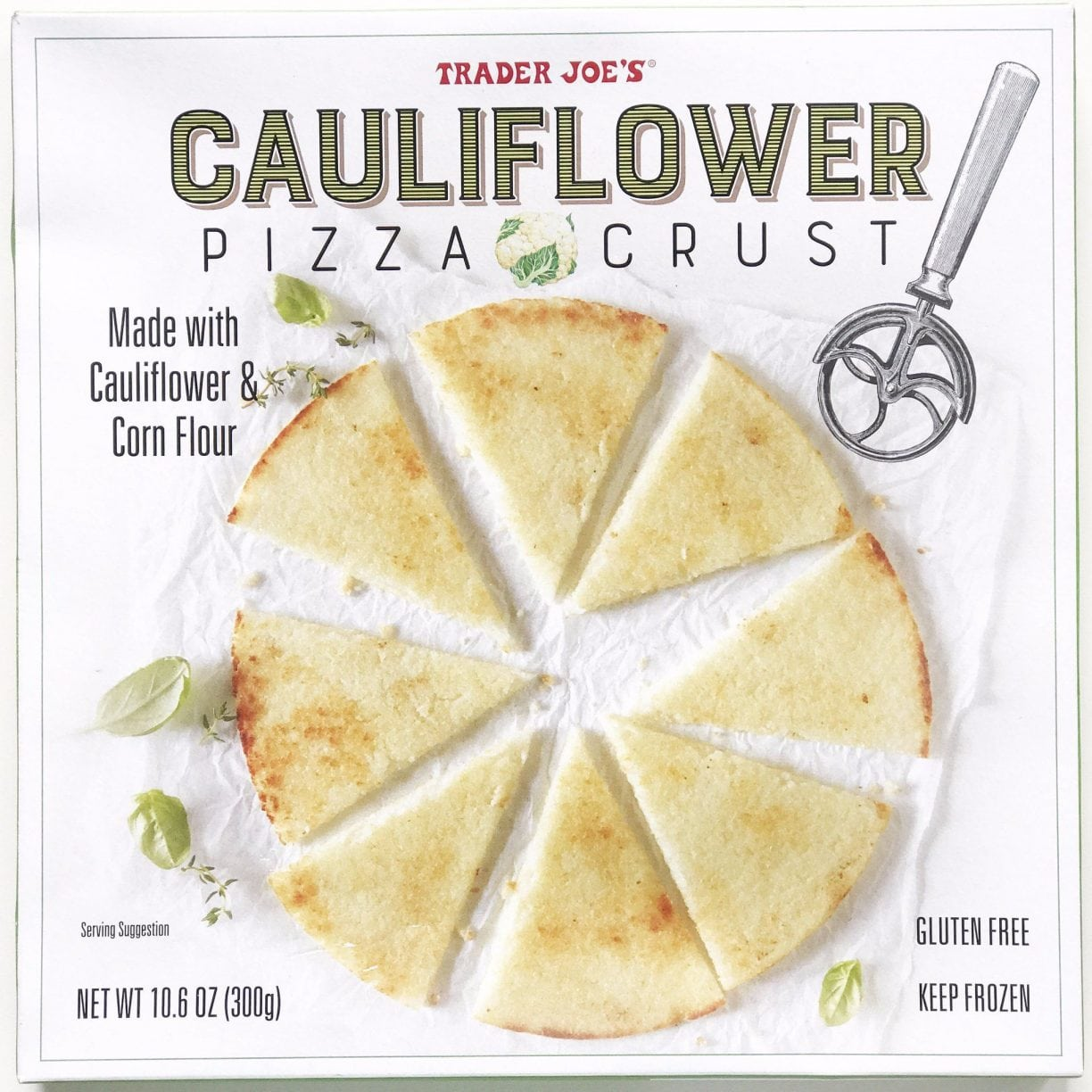 trader joe's cauliflower crust favorite gluten free products