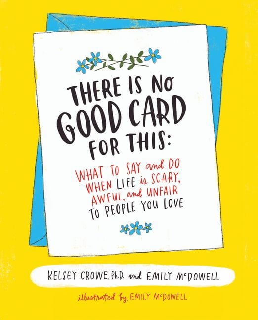 kelsey crowe emily mcdowell no good card book cover favorite books and links