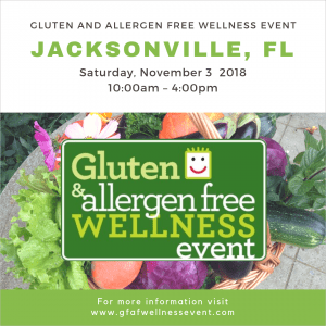 jacksonville gluten and allergen free wellness event november 3 2018