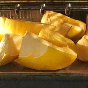 start fresh oven roasted squash